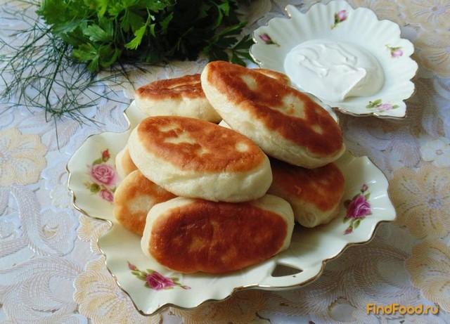 Рецепт Жареные пирожки с мясом рецепт с фото