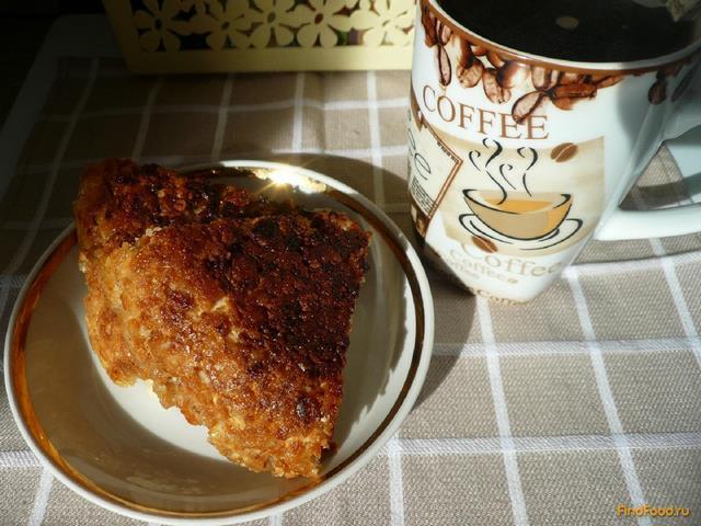 Рецепт Запеканка творожная с яблоком рецепт с фото