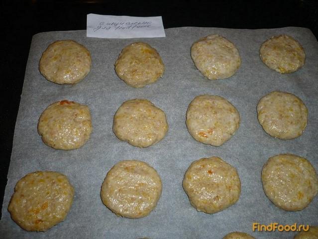 Постное тыквенное печенье рецепт с фото 6-го шага