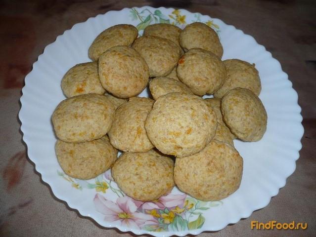 Постное тыквенное печенье рецепт