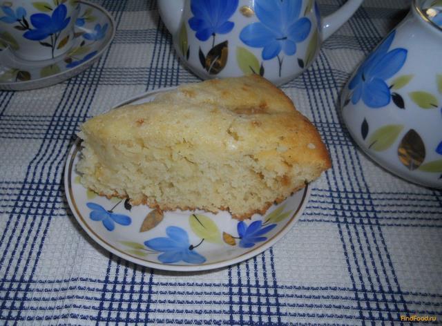 Рецепт Простой манник с яблоками рецепт с фото