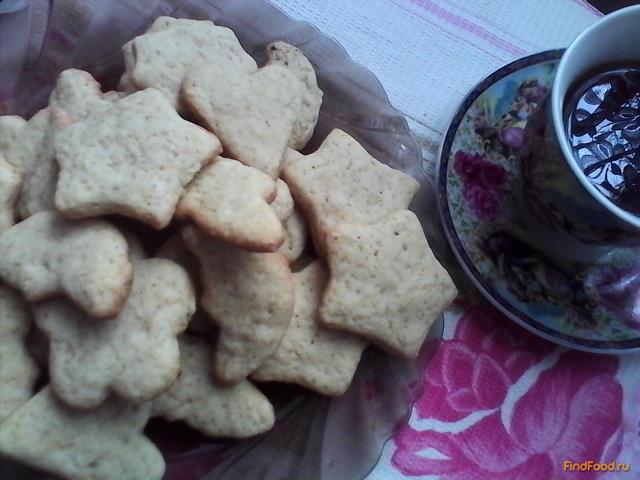 Рецепт Песочное печенье с корицей и имбирем рецепт с фото