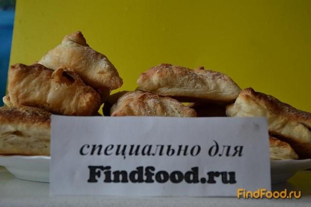 Рецепт Слойки с яблоками и сахаром рецепт с фото