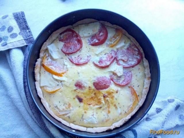 Рецепт Киш с овечьей брынзой и томатами рецепт с фото