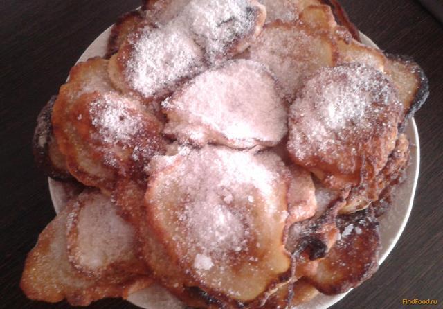 Рецепт Яблочно-грушевые оладья рецепт с фото