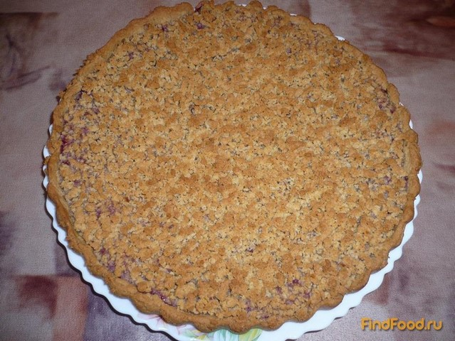Рецепт Постный тертый пирог с вареньем рецепт с фото