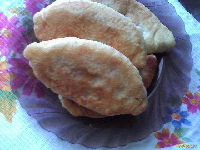 Рецепт Жареные пирожки с тушеной капустой рецепт с фото