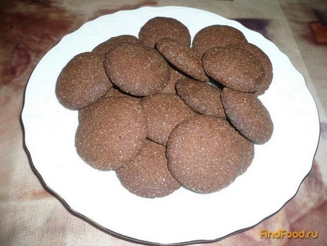 Рецепт Постное шоколадно-клубничное печенье рецепт с фото