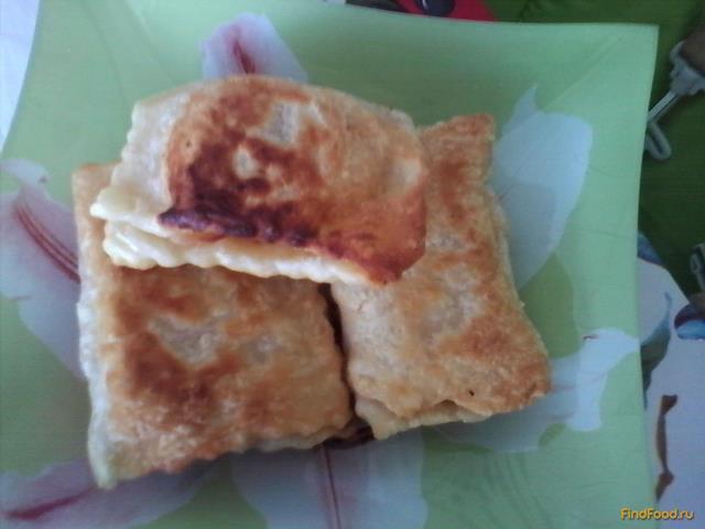Рецепт Слоеные пирожки с яблоками рецепт с фото
