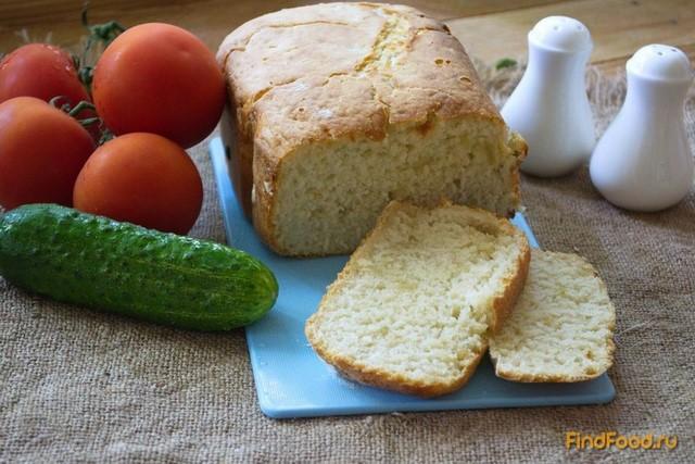 Рецепт Чесночно-луковый хлеб в хлебопечке рецепт с фото
