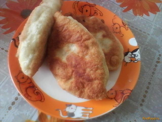 Рецепт Жареные пирожки с рисом и рыбой рецепт с фото