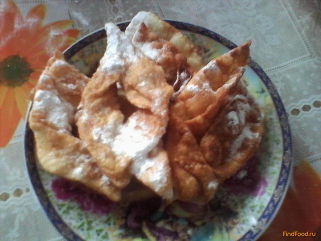Рецепт пышного хвороста на кефире  Кулинарные рецепты