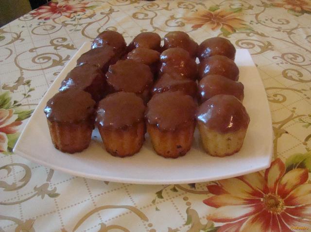 Рецепт Кексы Манное удовольствие рецепт с фото