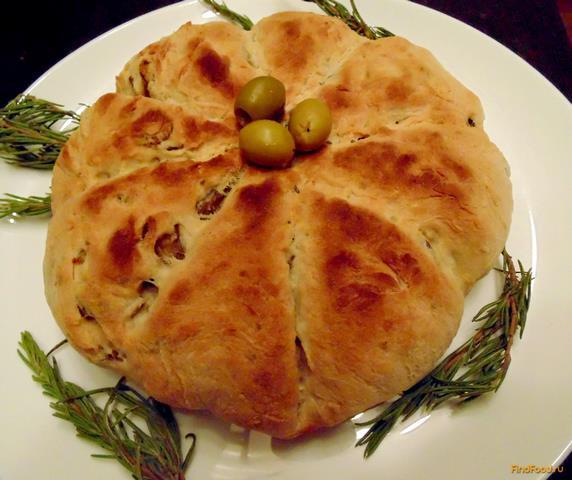 Рецепт Быстрый хлеб с оливками и розмарином рецепт с фото