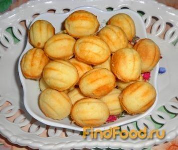 Рецепт Печенье в формах с грушевым пюре рецепт с фото