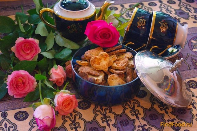 Рецепт Крекер сырный с семенами льна рецепт с фото