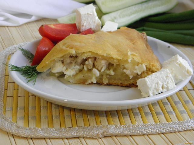 Рецепт Пирог с курицей и картофелем рецепт с фото