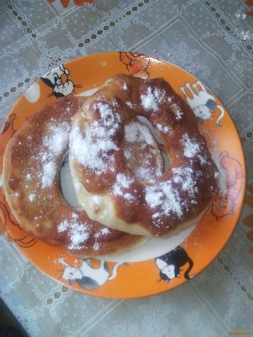 Рецепт Воздушные пончики на дрожжевом тесте рецепт с фото