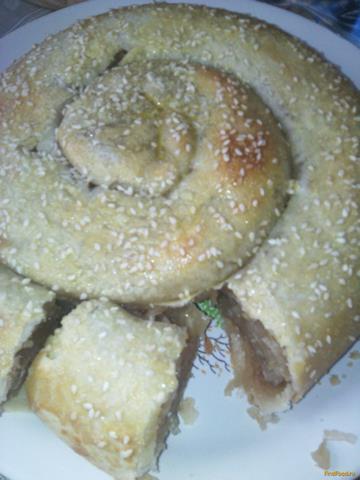 Рецепт Вертута с яблоками рецепт с фото