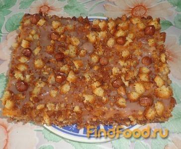 Рецепт Быстрый ореховый торт рецепт с фото