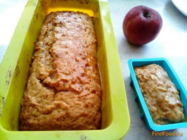 Рецепт Яблочный кекс без яиц рецепт с фото