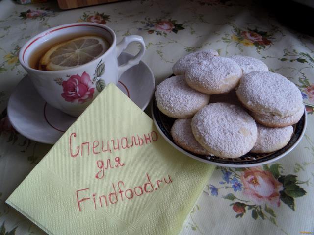 Рецепт Молочное печенье рецепт с фото