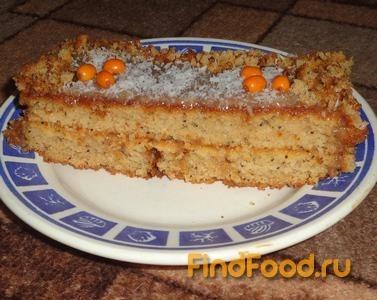 Рецепт Торт на облепиховом соке рецепт с фото
