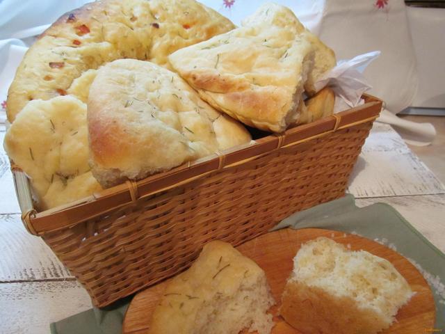 Рецепт Картофельная фокачча рецепт с фото