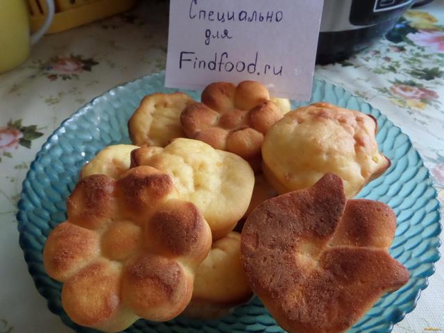 Рецепт Цитрусовые кексы рецепт с фото