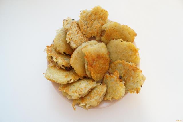 Картофельные драники с шампиньонами рецепт с фото 8-го шага