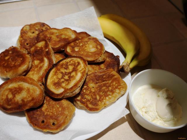 Рецепт оладьи с бананом и корицей рецепт с фото