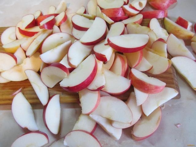 Яблочный пай рецепт с фото 4-го шага