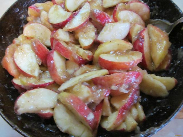 Яблочный пай рецепт с фото 9-го шага