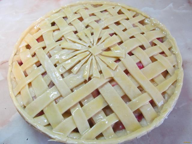 Яблочный пай рецепт с фото 15-го шага