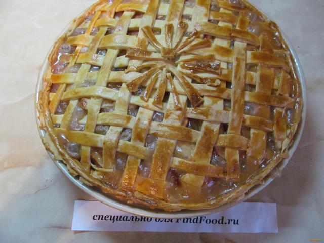 Яблочный пай рецепт с фото 16-го шага