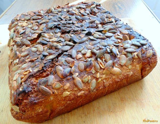 Рецепт Быстрый хлеб с семенами подсолнечника рецепт с фото