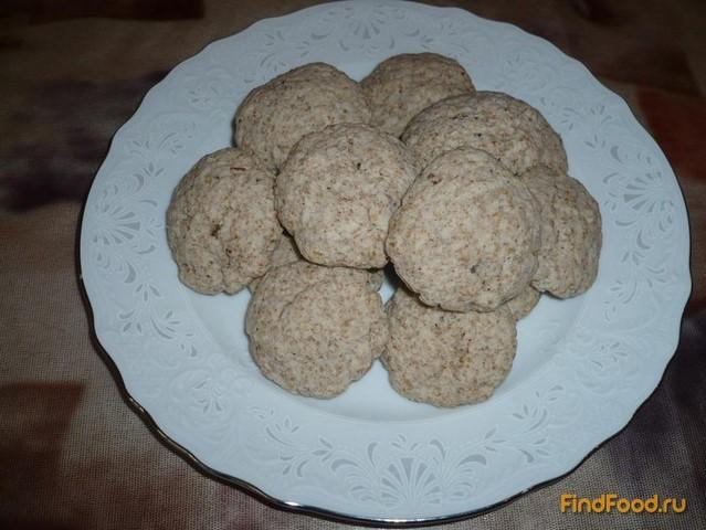 Рецепт Постное печенье с отрубями рецепт с фото