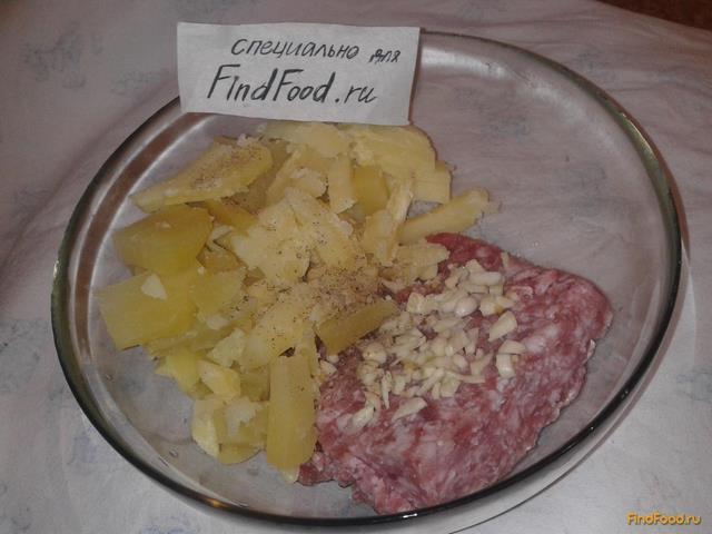 Пирог с фаршем из слоёного теста рецепт с фото 5-го шага