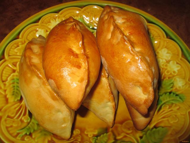Рецепт Классические пироги с яйцом и капустой рецепт с фото