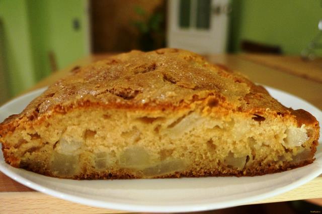 Рецепт Ароматный пирог с грушами рецепт с фото