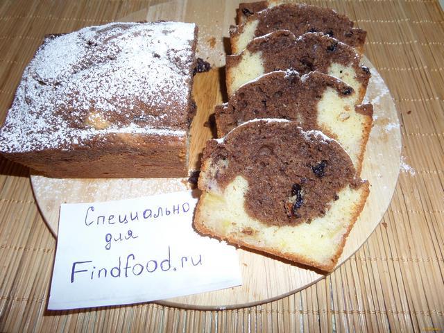 Рецепт Кекс с двойной начинкой рецепт с фото
