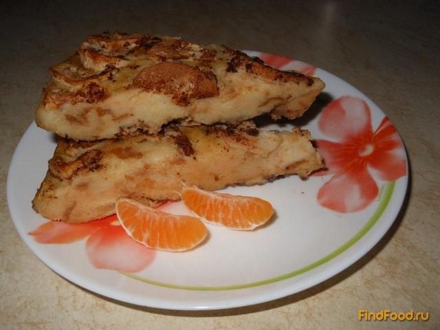 Рецепт Шарлотка из хлеба рецепт с фото