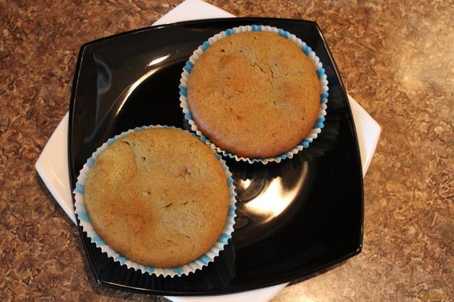 Рецепт Кексы с зеленым чаем рецепт с фото