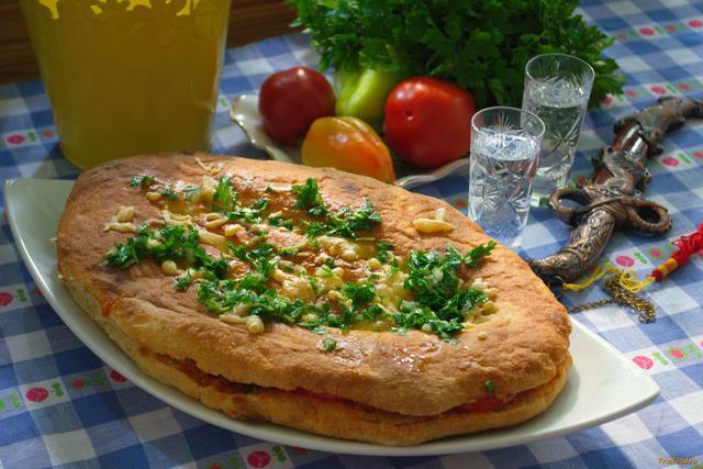 Рецепт Запеченный армянский лаваш с овощами рецепт с фото