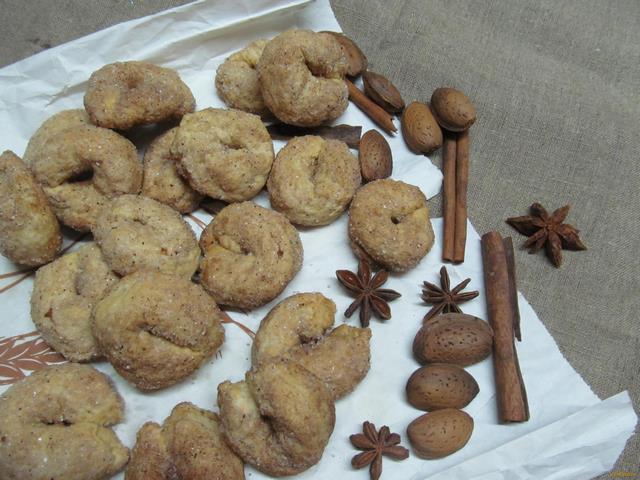 Рецепт Печенье Торчетти рецепт с фото