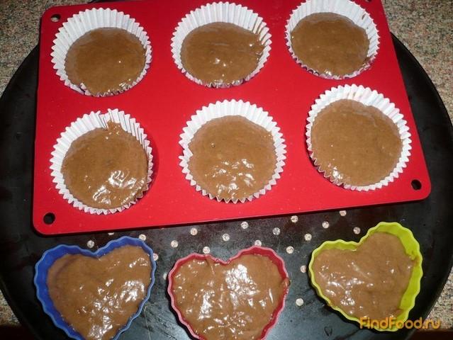 Рецепты кексов в формочках с какао