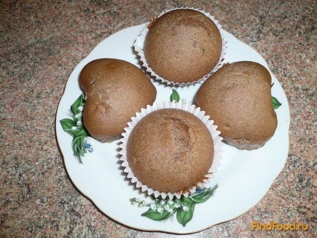 Рецепт Постные кексы с какао рецепт с фото