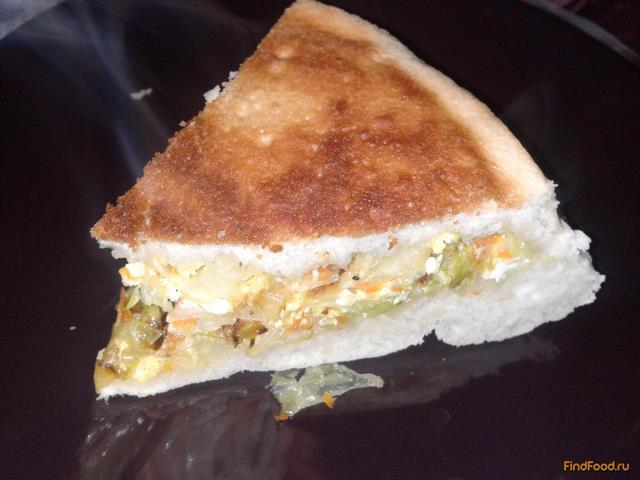 Рецепт Капустный пирог с яйцом рецепт с фото