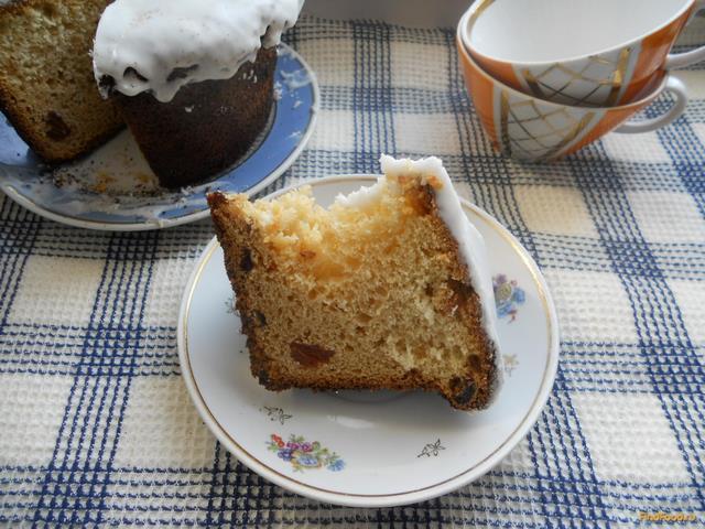Рецепт Кекс с глазурью рецепт с фото