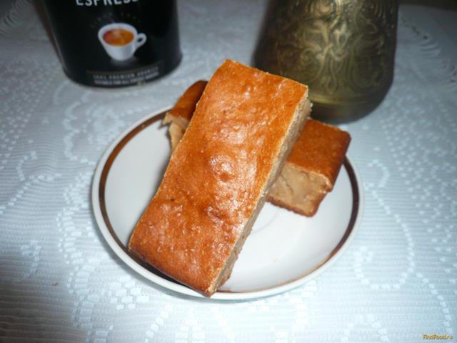 Рецепт Кефирная коврижка с медом рецепт с фото